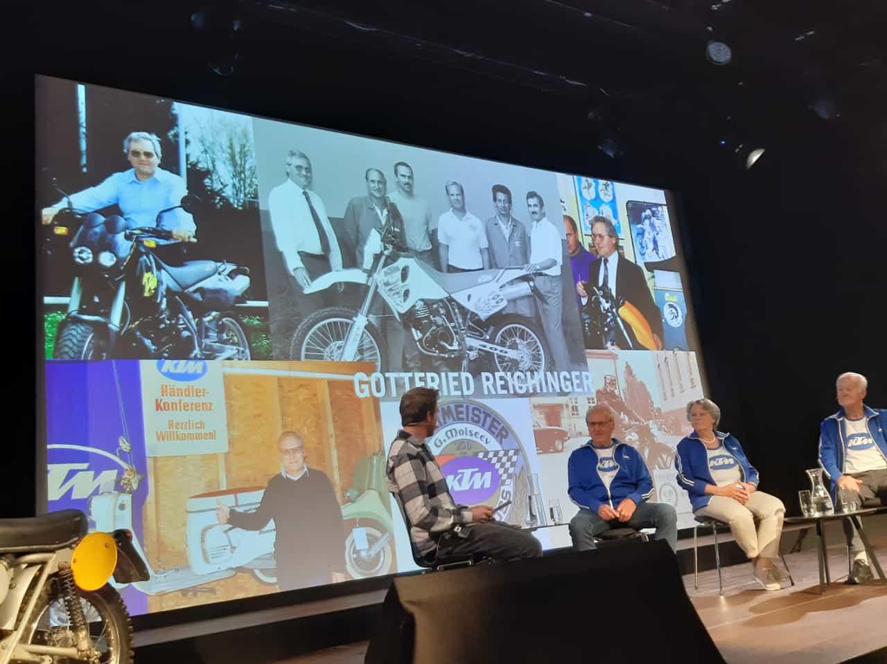 KTM History-Talk in Motohall